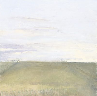 Batombe, Somerset, oil sketch, landscape