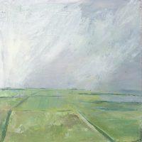 The Lizard, Cornwall, fields, Tregidden, landscape, farmland