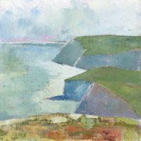 Church cove, Cornwall, beach, landscape, sea, sky