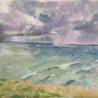 Poldhu, Cornwall, landscape, seascape, sea, skies