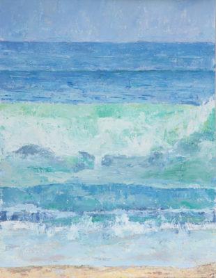 seas, cornwall, kennack, waves