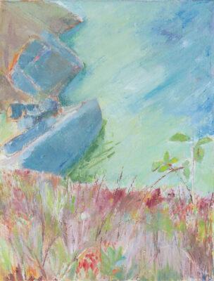 Cornwall landscape, seas, cliffs, painter, artist landscape The Lizard